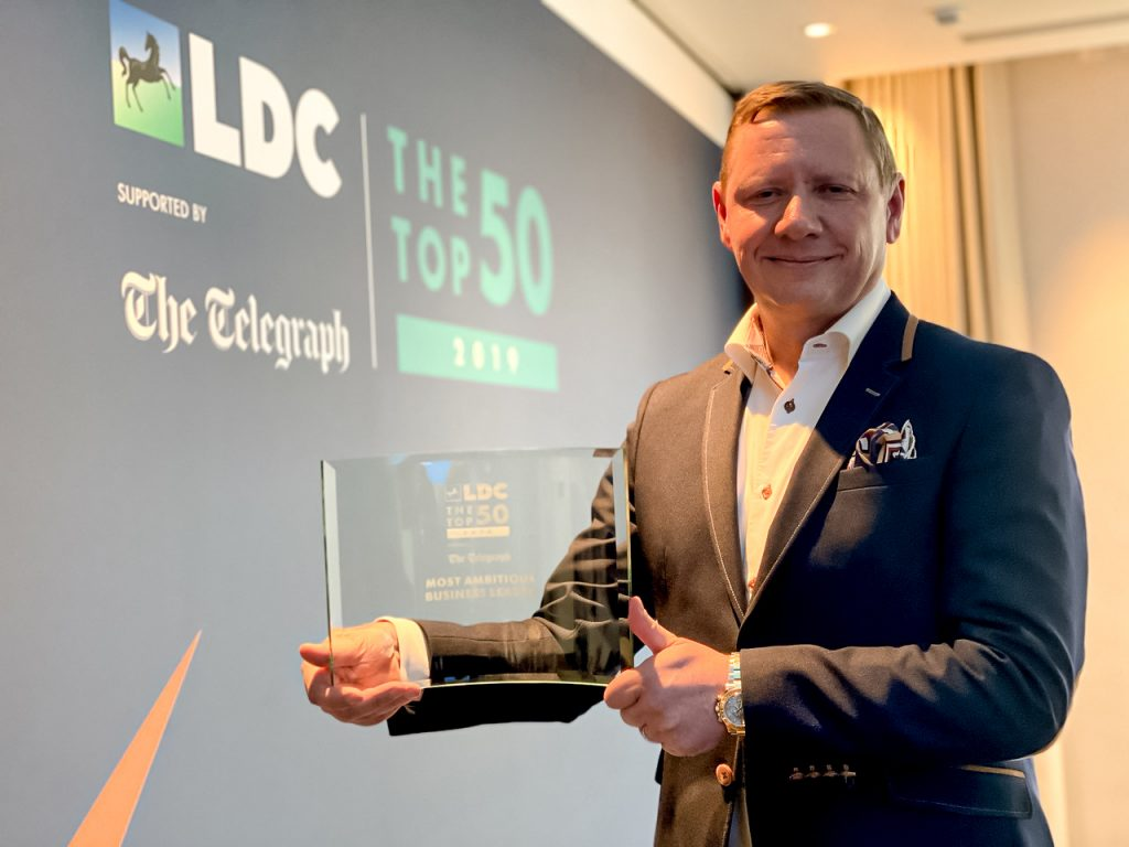 Clint Wilson LDC Most Ambitious Business Leader